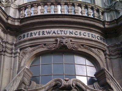 Foto Ausschnitt Eingangsbereich OVG Berlin-Brandenburg